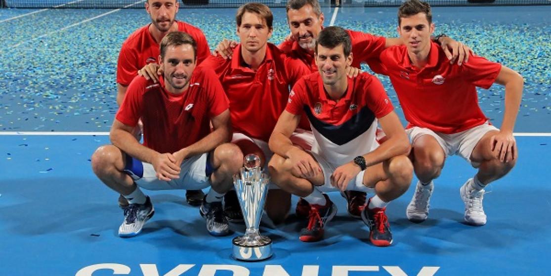 SERBIA WIN SENSATIONAL INAUGURAL ATP CUP