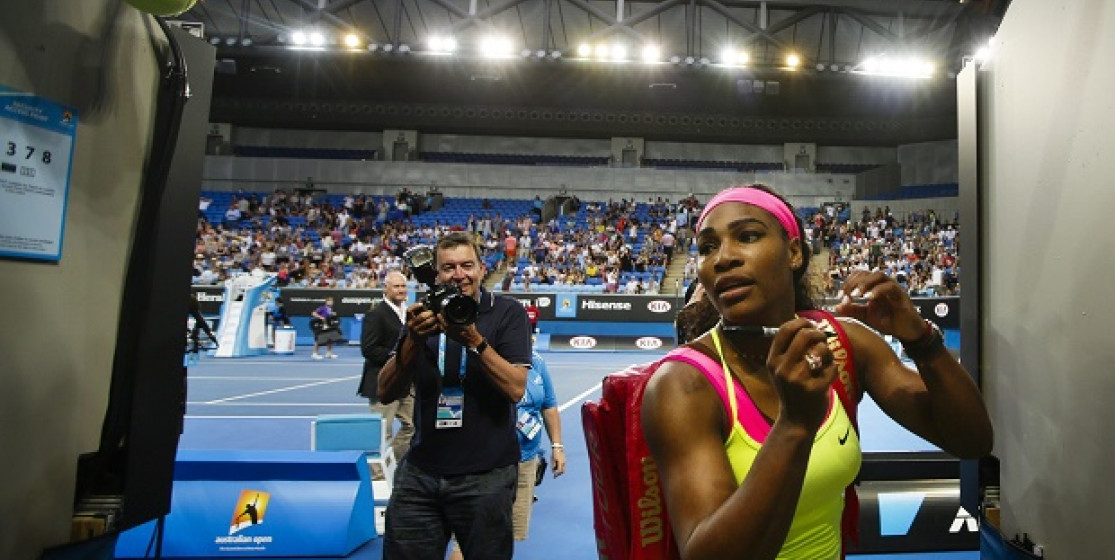You know that you're a fan of Serena Williams when...