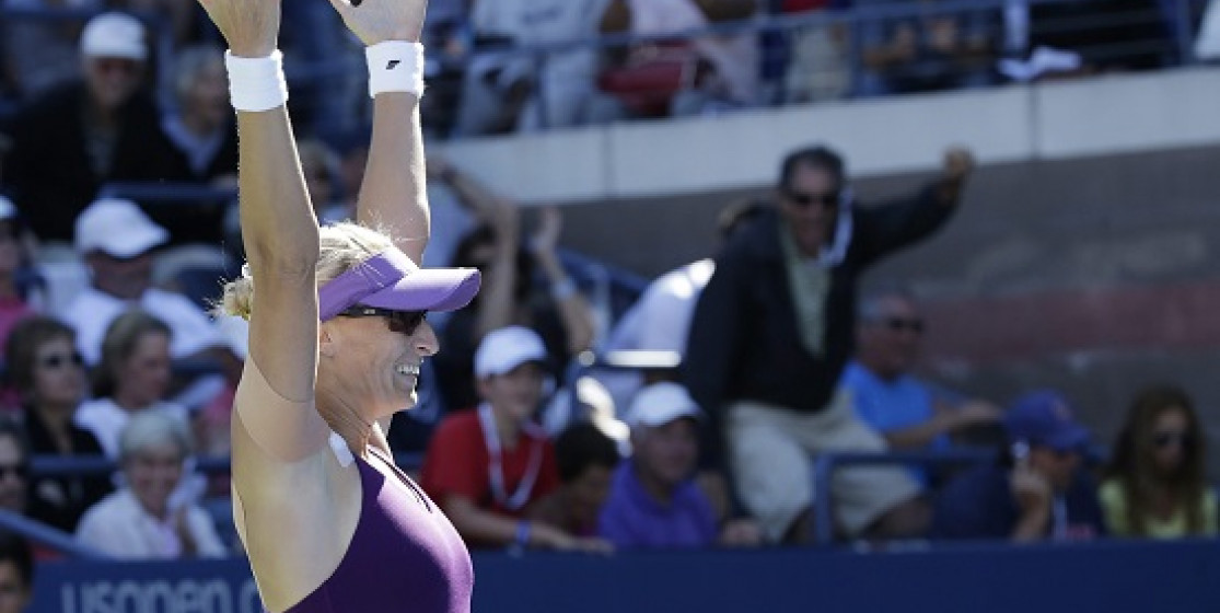 MIRJANA LUCIC-BARONI ... SHE IS THE STORY OF THIS US OPEN