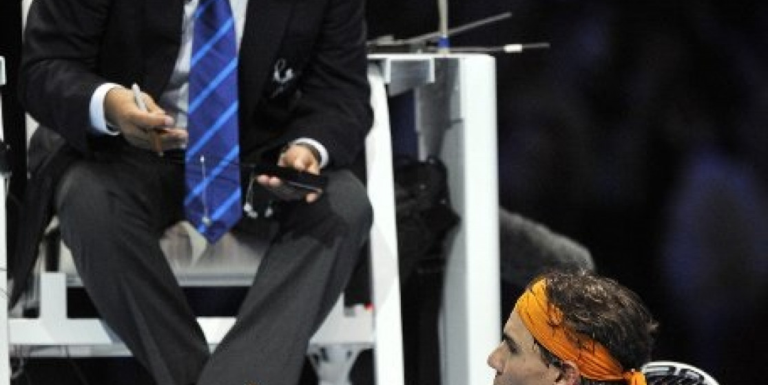 NADAL REQUESTS HIATUS FROM CHAIR UMPIRE
