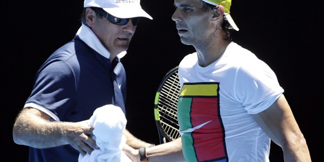 You thought that Toni and Rafa Nadal would never split up when…