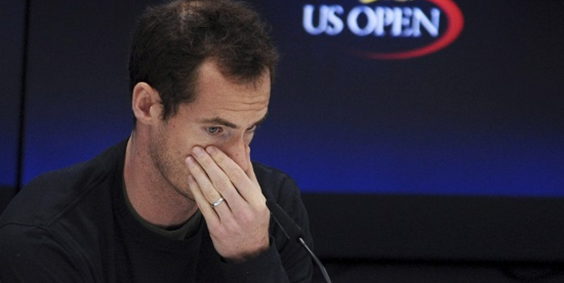 MISSING IN ACTION - MURRAY OUT OF THE OPEN