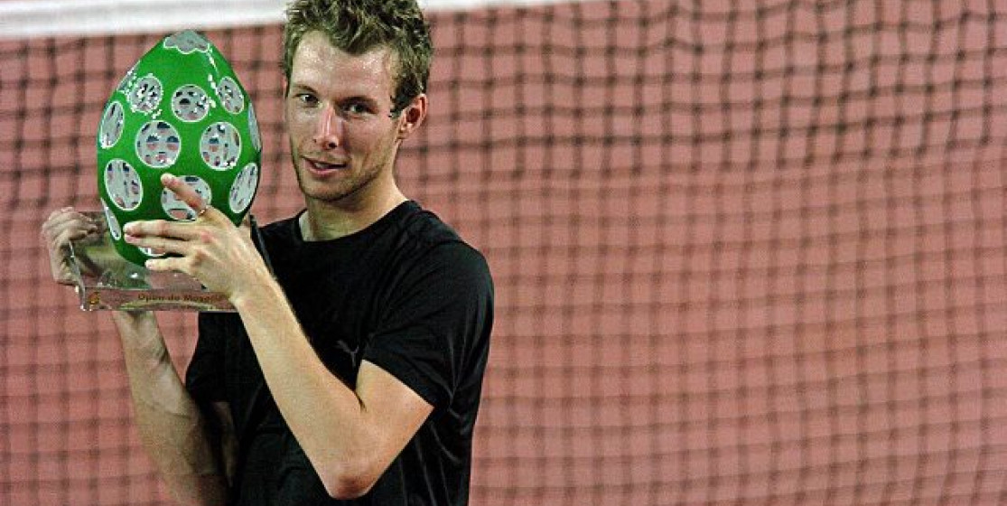 Jérôme Haehnel, the tennis player who was scared of flying