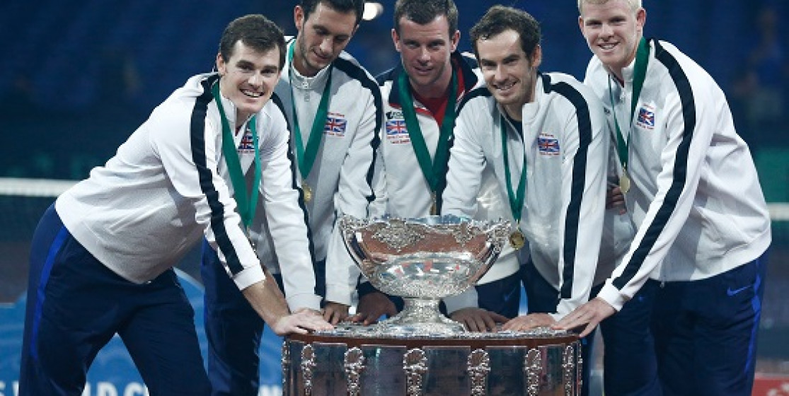 A 79 YEAR DROUGHT ENDS - BRITAIN WINS DAVIS CUP