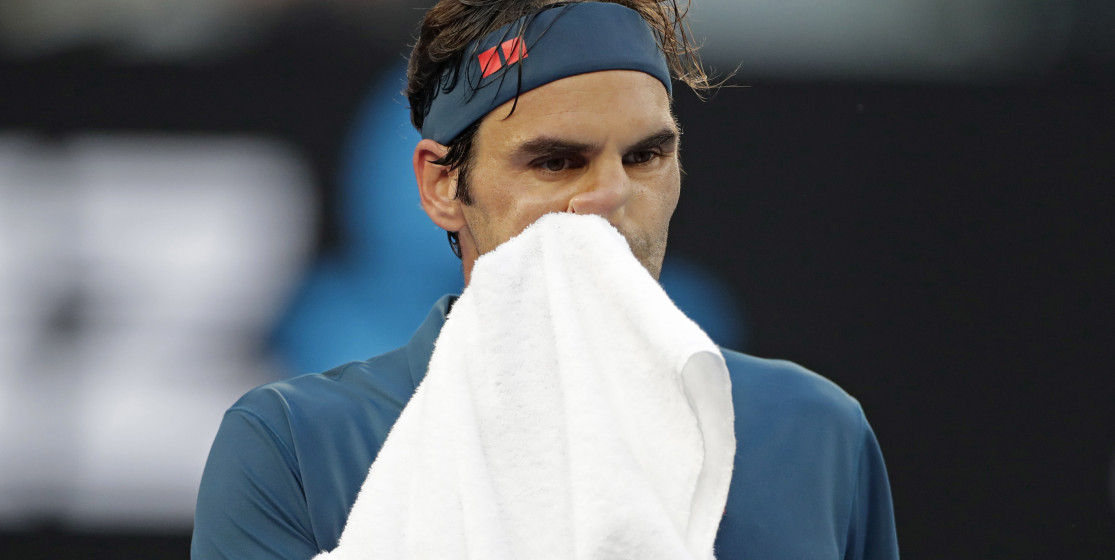 The tennis news (but not only) of the week : Federer already out, and a trendy egg.