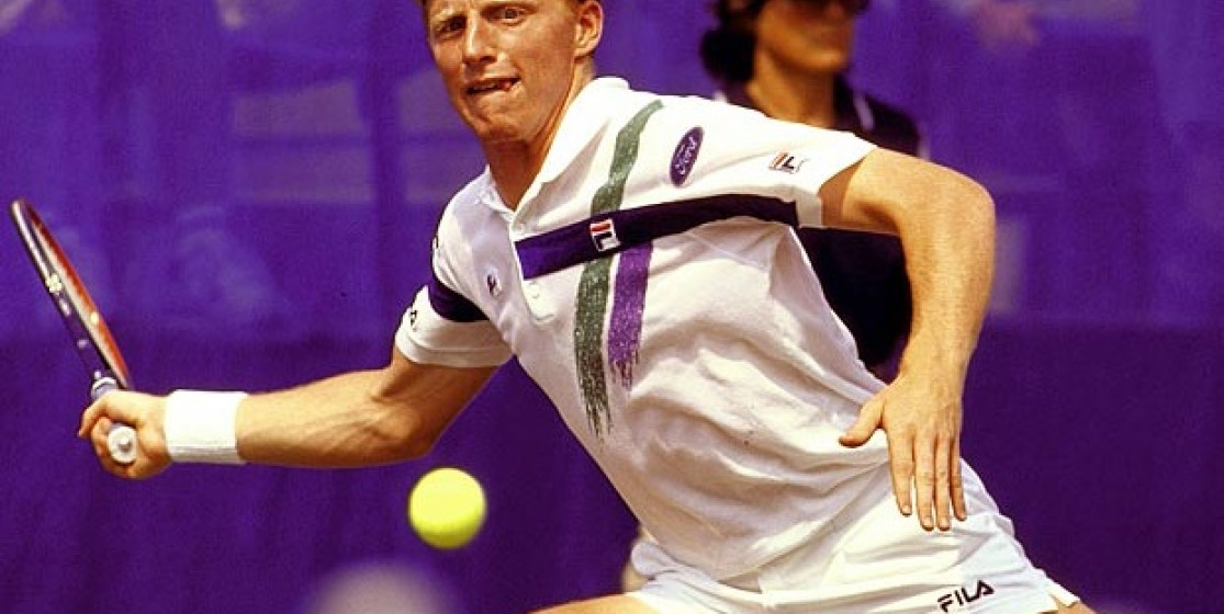 The day Becker ran away from the Rod Laver Arena