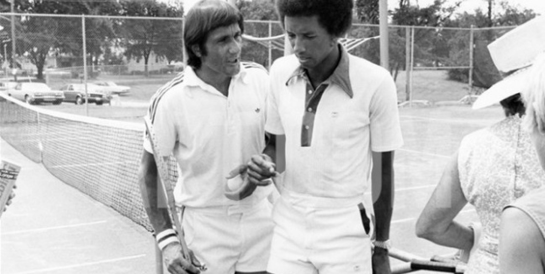 Masters : the day when Ilie Nastase managed to force Arthur Ashe to abandon