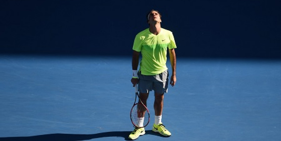 YOU CAN'T WRITE DOWN FEDERER