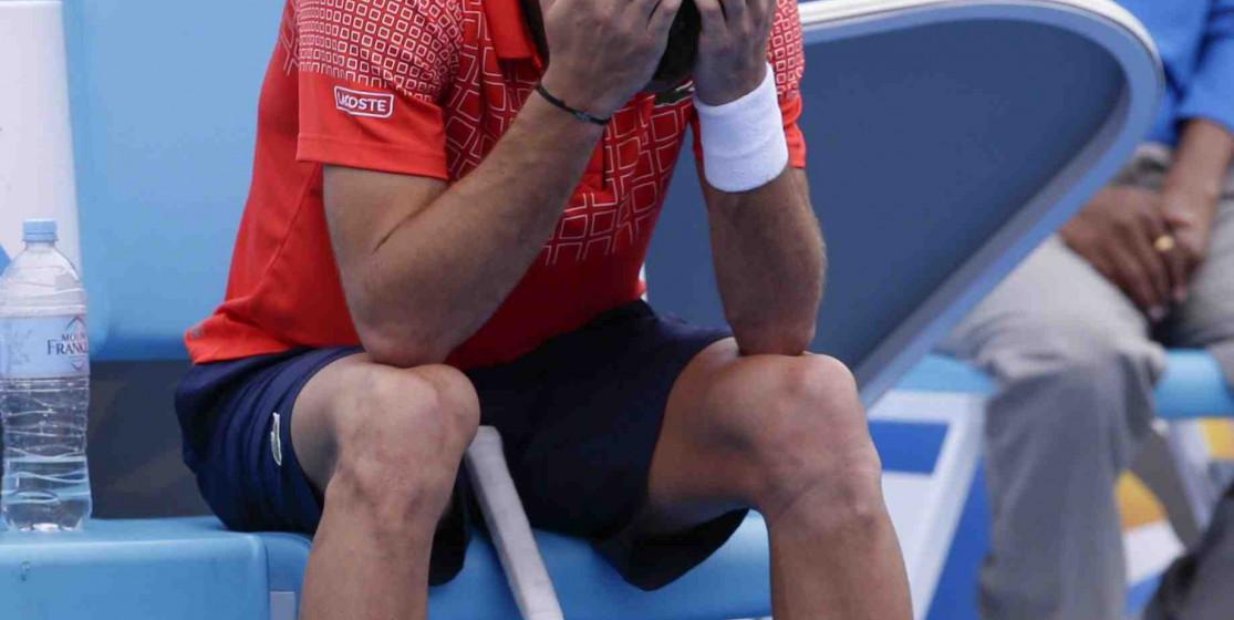 Les larmes de Benoît Paire