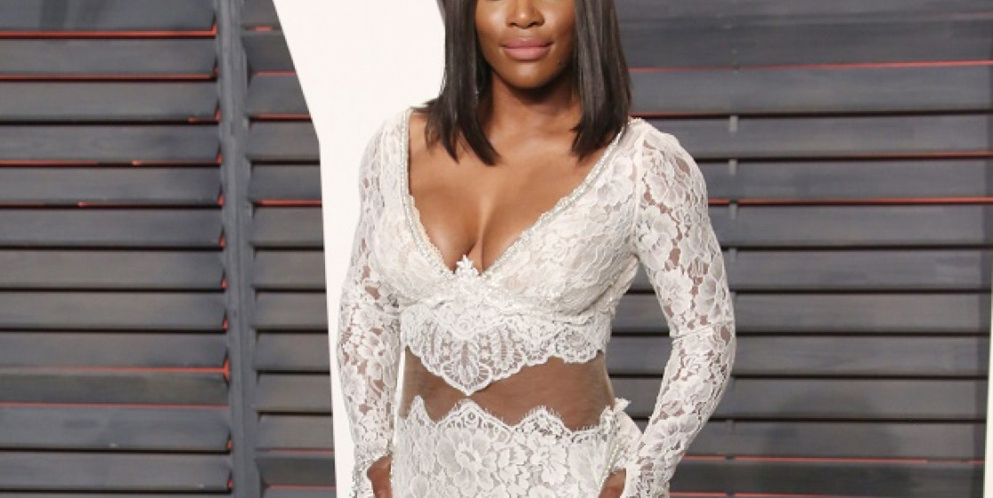 Serena Williams, the surprise-guest