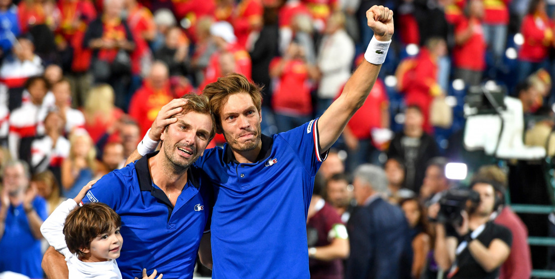 The tennis news (but not only) of the week : The moon and the Davis Cup by BNP Paribas