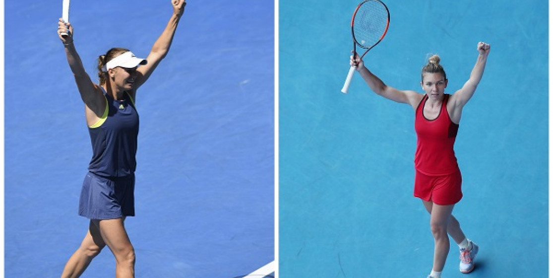 SIMO AND CARO PLAY AUSSIE OPEN FINAL