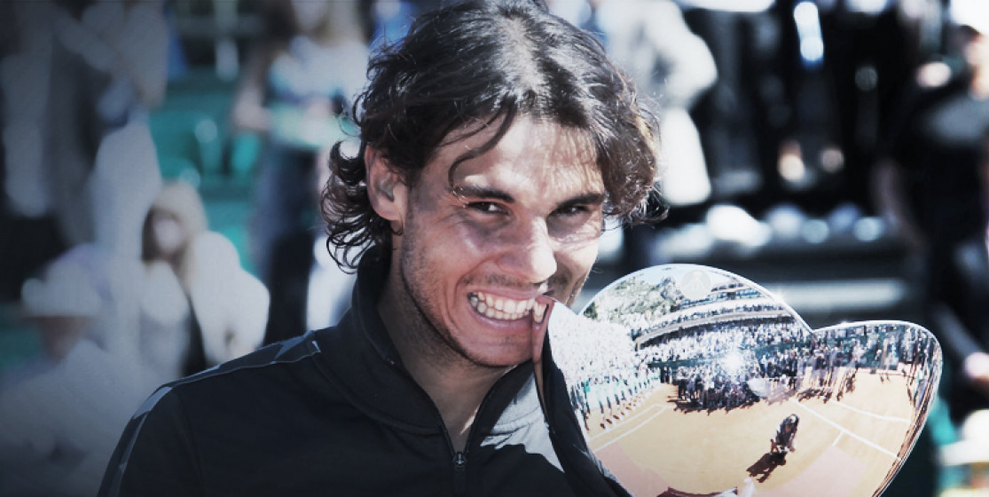 You know Raphael Nadal will win in Monte Carlo again when...