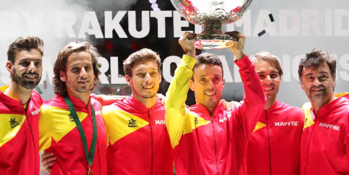 Les Espagnols décrochent la Coupe Davis