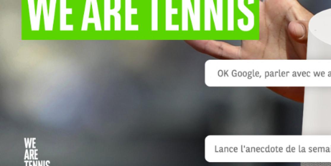 Parlez avec We Are Tennis
