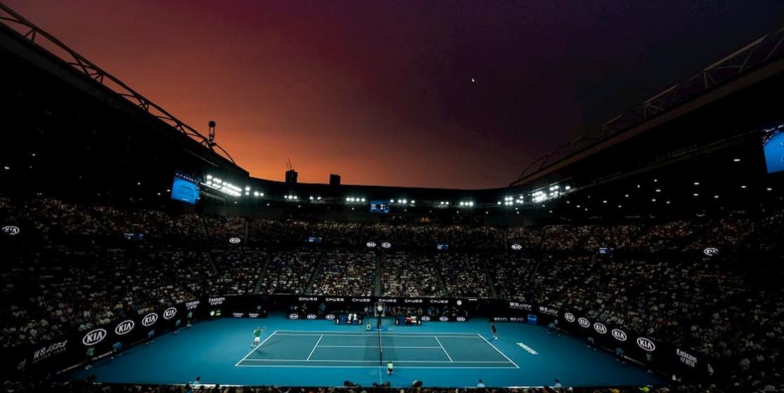 Australian open stadium
