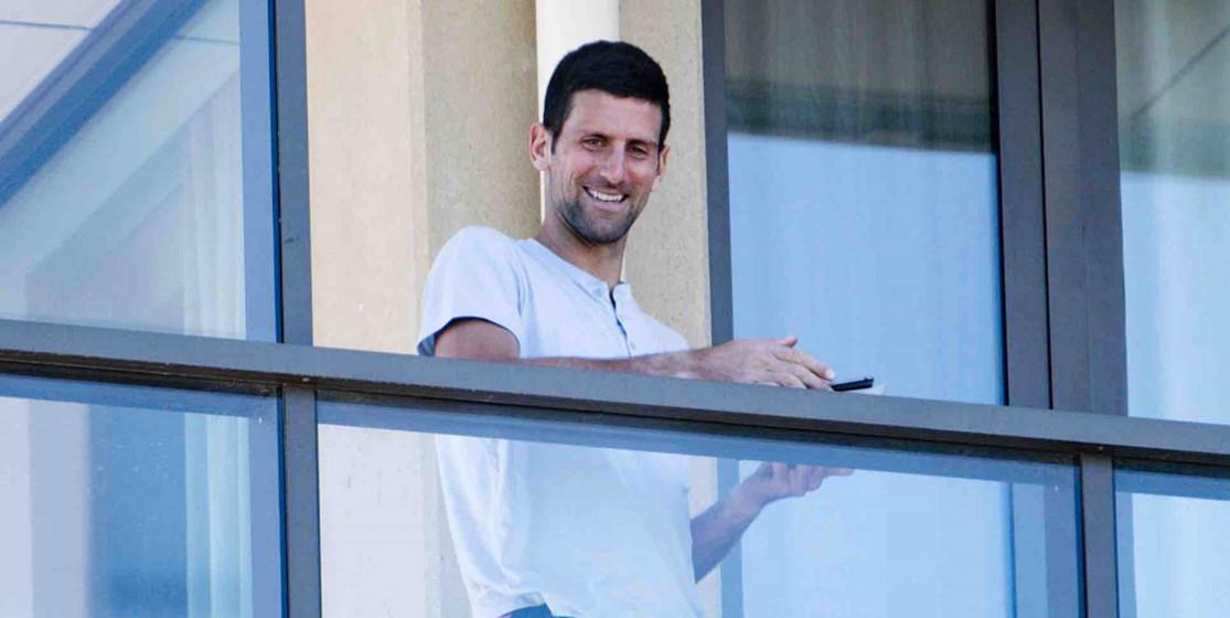 A quoi joue Novak Djokovic