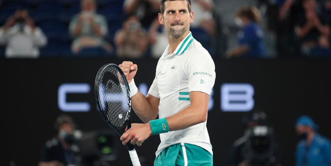 Novak Djokovic doit accepter son destin