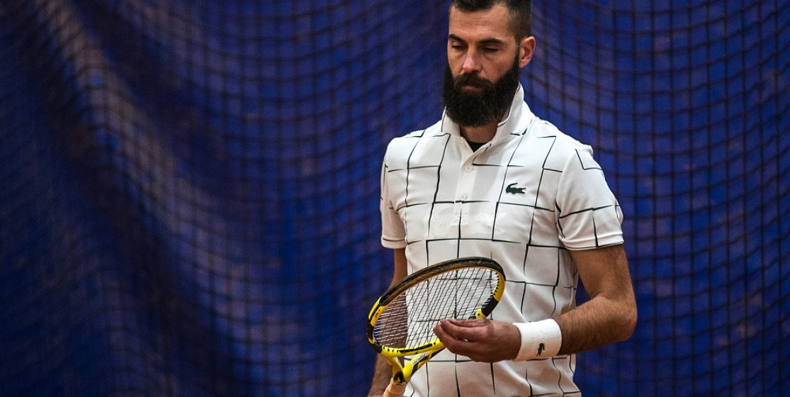 Benoit Paire in thought