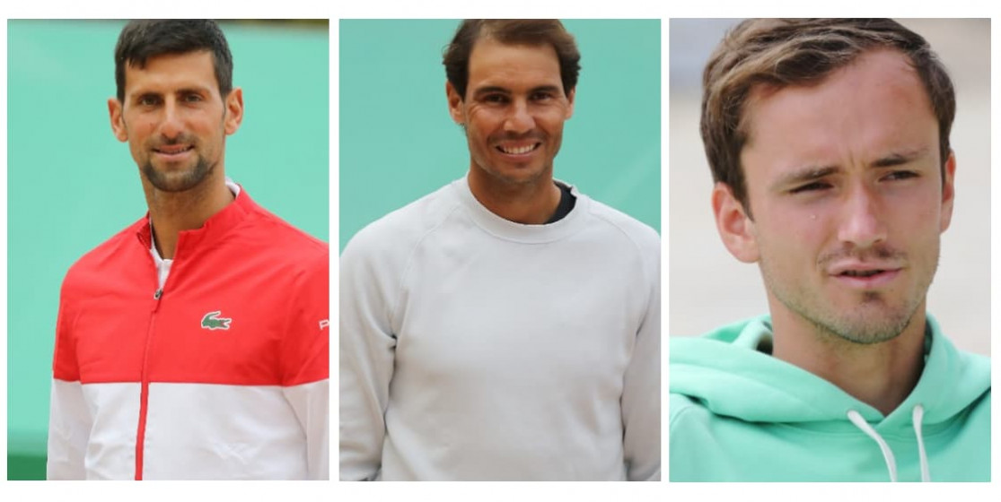 Djokovic, Nadal, Tsitsipas