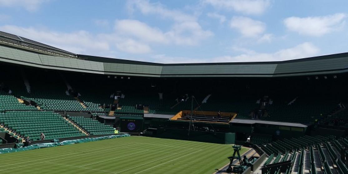 The famed Wimbledon Centre Court