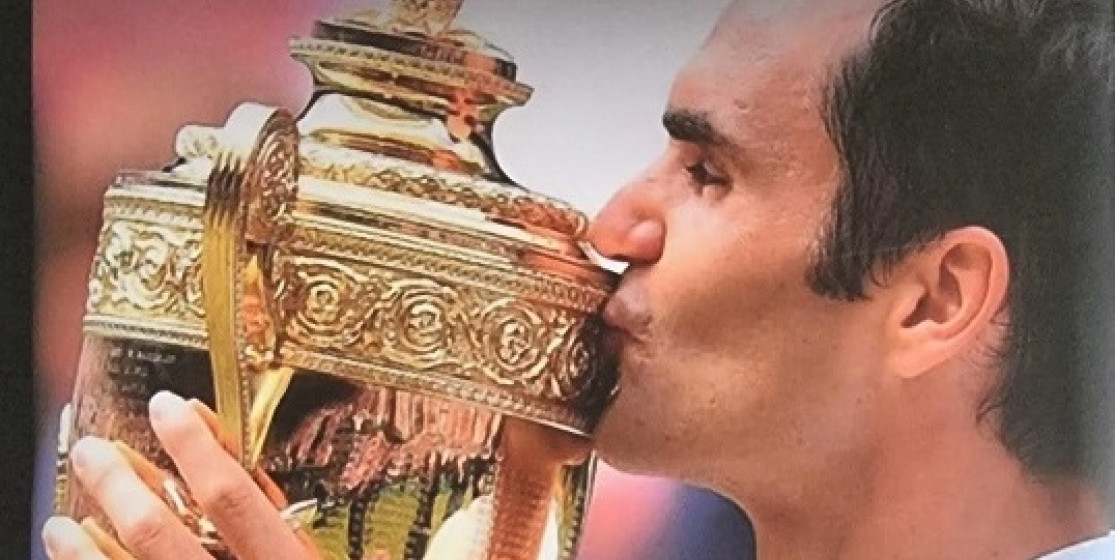 the new Roger Federer biography
