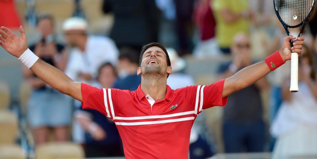Djokovic passe la 19ème