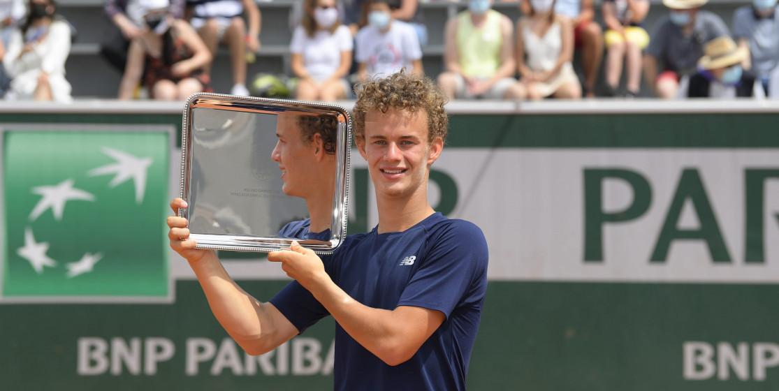 Membre de la Team BNP Paribas Jeunes Talents, Luca Van Assche revient sur sa victoire à Roland-Garros