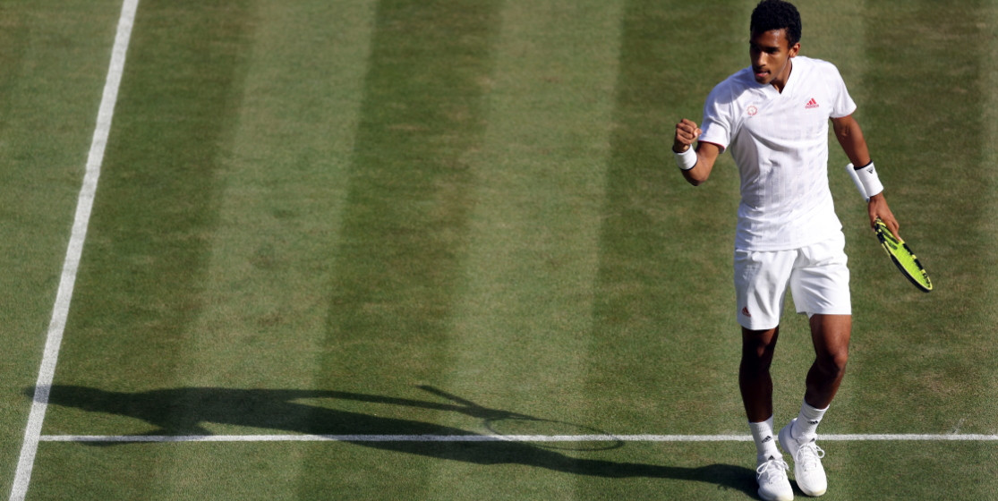 Félix Auger-Aliassime returns to form on grass