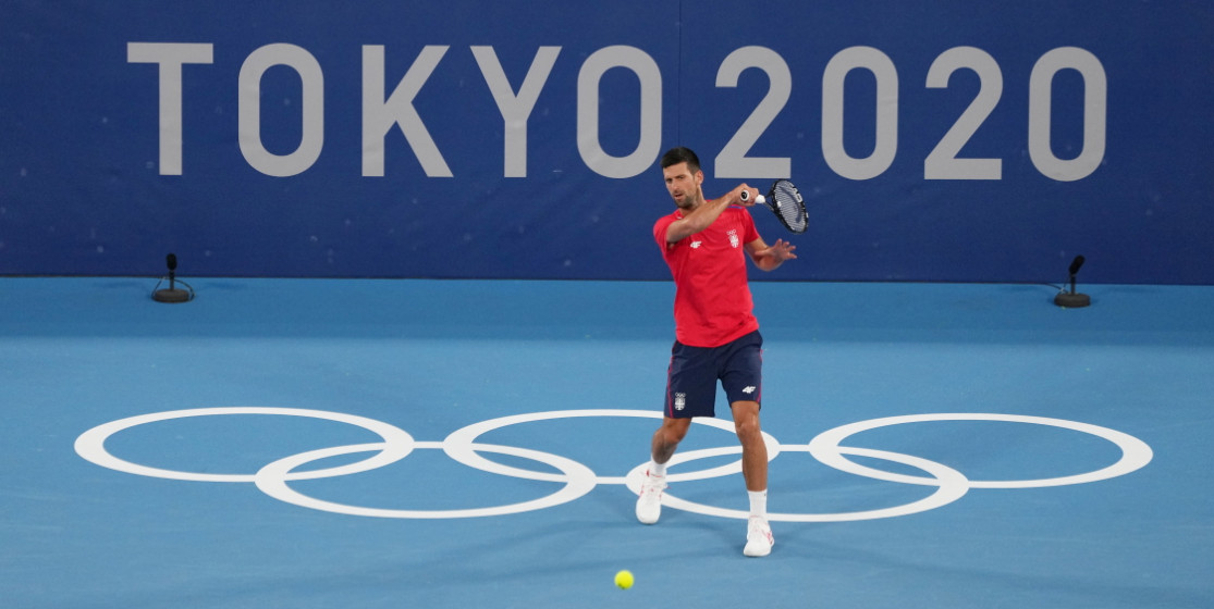 Novak Djokovic – going for gold