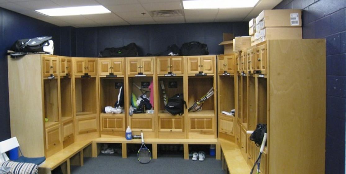 tennis locker room