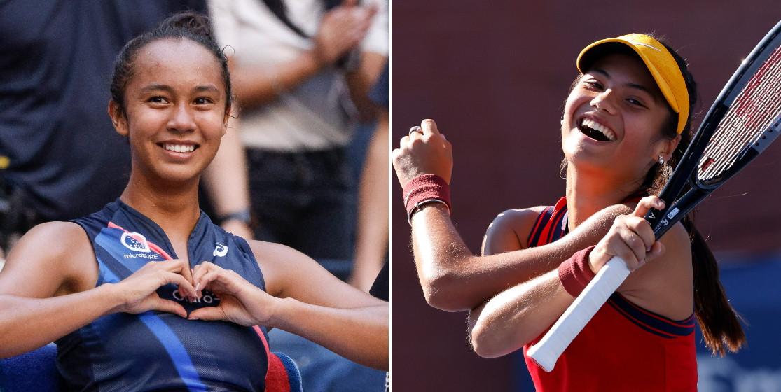 Leylah Fernandez, Emma Raducanu : fausses jumelles