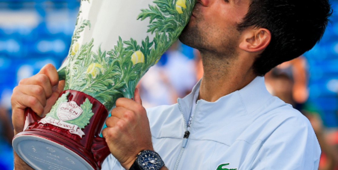 Novak Djokovic fait le grand 9 à Cincinnati