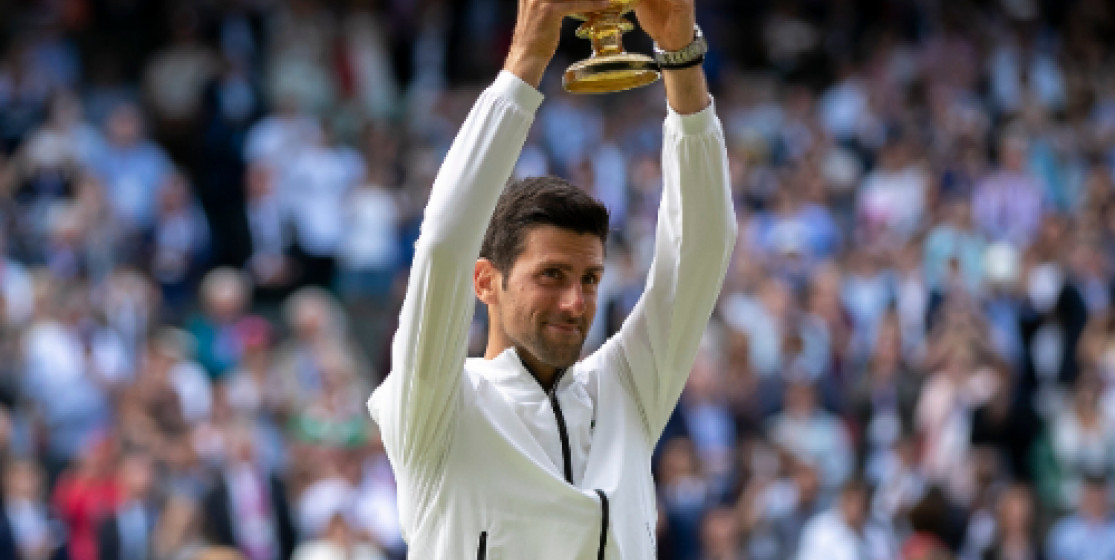 Novak Djokovic titan de Wimbledon