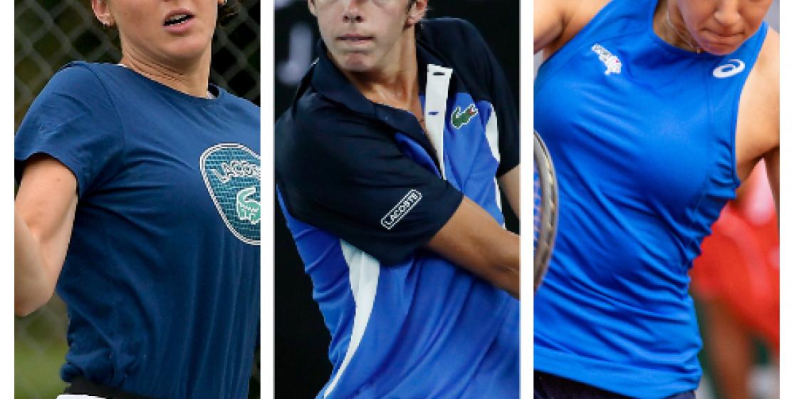 3 membres de la Team BNP Paribas Jeunes Talents à Roland-Garros