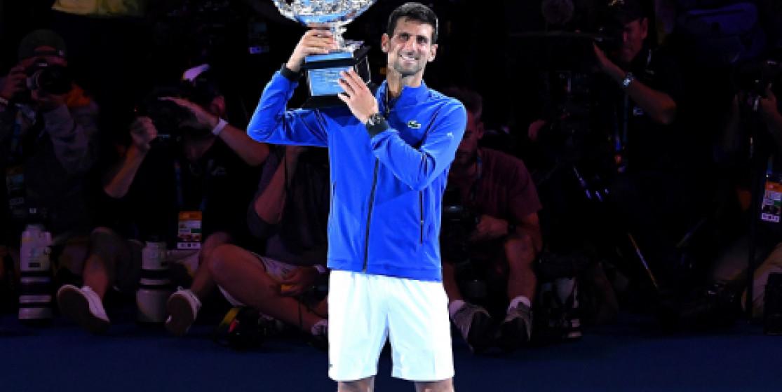Novak Djokovic au 7ème ciel