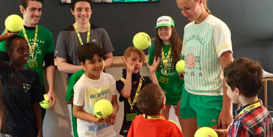 Les aces du cœur le programme tennis solidaire de BNP Paribas