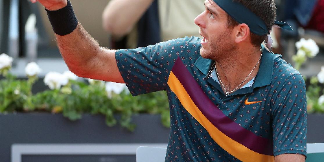 L'actu tennis (mais pas que) de la semaine : Del Potro déraille, un cheval sur le rail