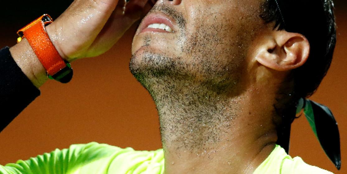 L'actu tennis (mais pas que) de la semaine : Nadal au tapis et chips anti-masque