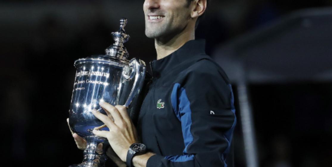 Novak Djokovic sur le toit de l'US Open