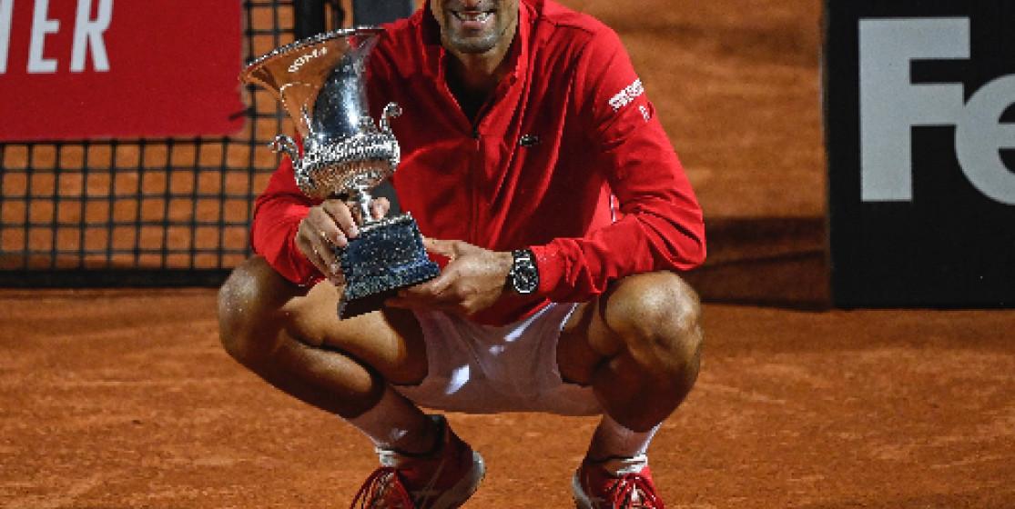 Djokovic, le colosse de Rome