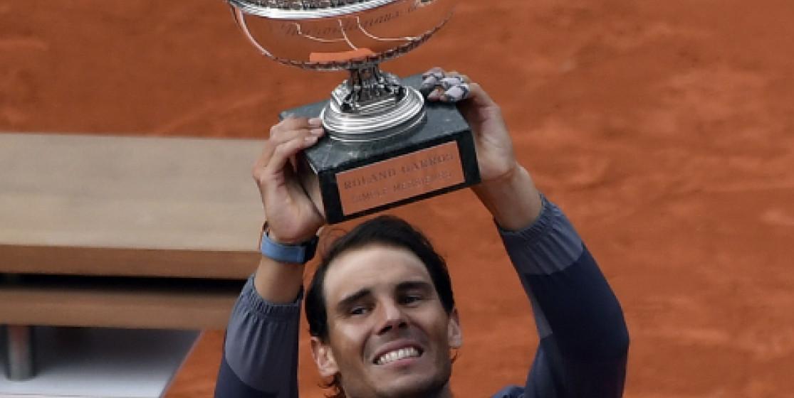 Rafael Nadal passe la 12ème