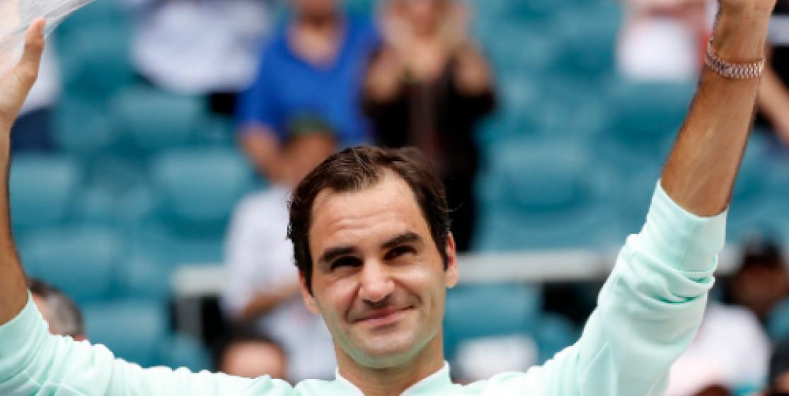 Federer surfe sur Miami