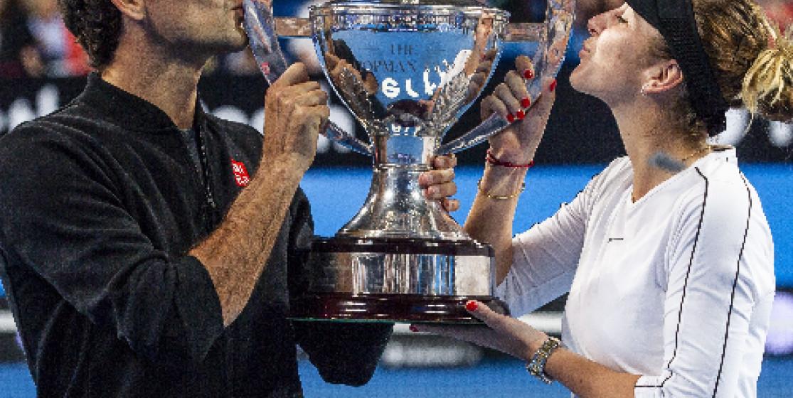 L'actu tennis de la semaine (mais pas que) : Federer et l'entrecôte en or