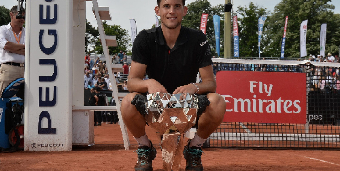 l'actue tennis (mais pas que) de la semaine : Thiem à Lyon et le Real Madrid champion d'Europe