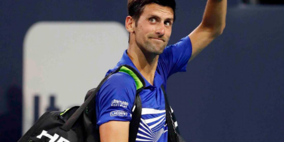 Bye bye Novak Djokovic