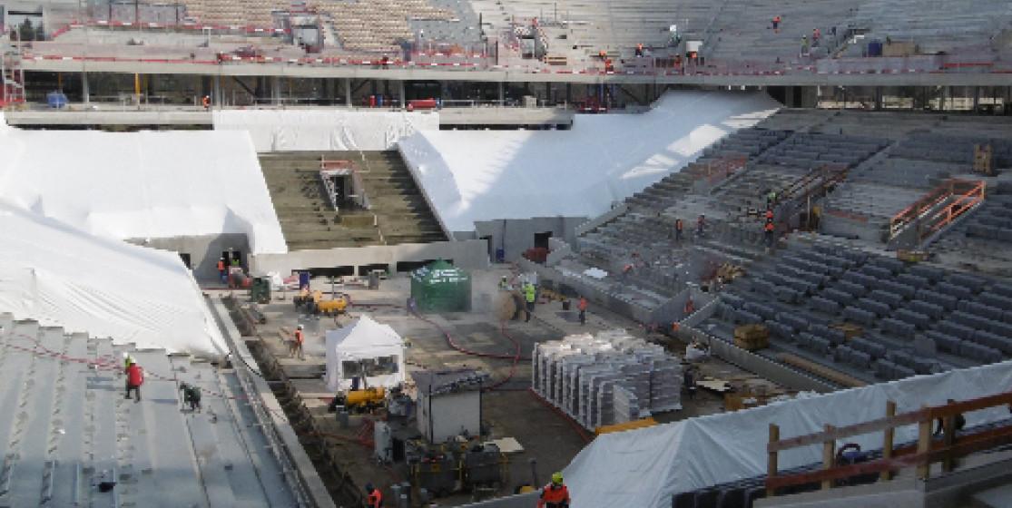 Nouveau Roland-Garros : les travaux avancent, le stade est bientôt prêt à déployer ses ailes !