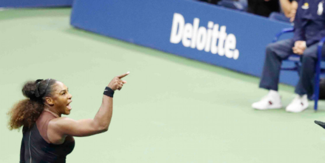 Et Serena craqua (encore)