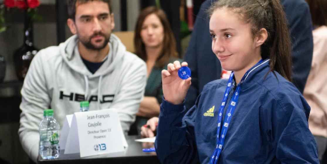 Infiltré avec la Team BNP-Paribas Jeunes Talents à l'Open 13