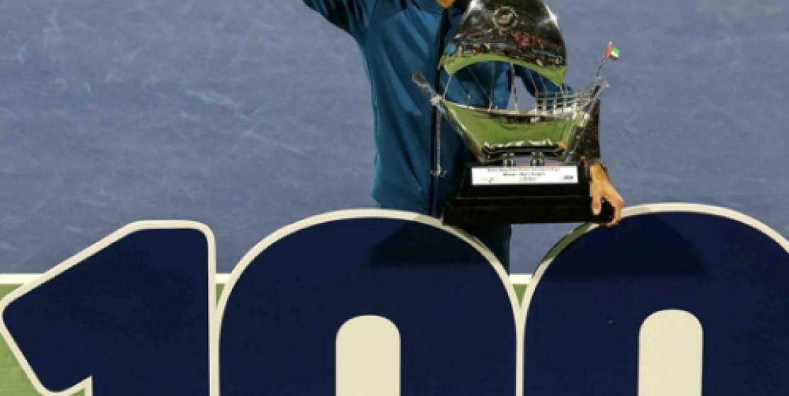 Roger Federer franchit le mur du 100 !